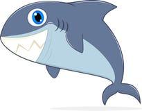 愉快的鲨鱼 免版税库存图片