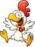 愉快的鸡 向量例证