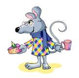 愉快的鼠标 免版税库存图片