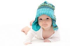 愉快的婴儿 免版税库存图片