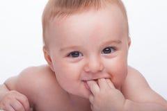 愉快的婴孩 库存图片