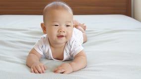愉快的婴孩 股票录像
