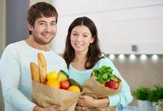 愉快的素食主义者 免版税库存图片