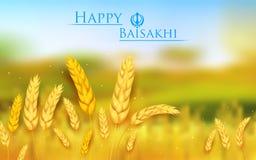 愉快的Baisakhi 免版税库存照片