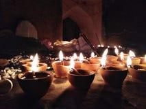 愉快的diwali 免版税库存照片