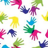 愉快的Holi春节 假日颜色的五颜六色的背景 抽象模式 免版税库存图片