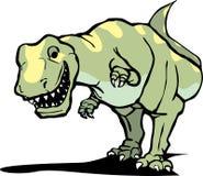 愉快的rex暴龙 库存照片