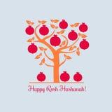 愉快的Rosh Hashana 免版税库存图片