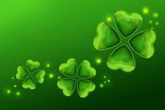 愉快的St Patricks天绿色背景 免版税库存图片