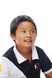 愉快菲律宾的男孩 库存图片