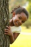 愉快非洲裔美国人的子项 免版税库存图片