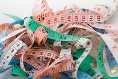 任意地被排序的厘米 免版税库存照片