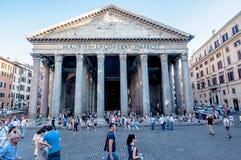 意大利万神殿罗马 图库摄影