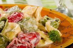 意大利式饺子 图库摄影