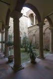 意大利中世纪围场 库存图片