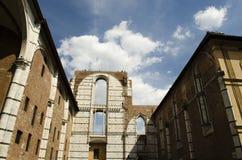意大利中世纪建筑学 免版税库存图片