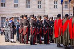 意大利人出兵日 免版税图库摄影