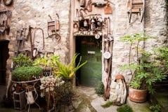 意大利人本机房子 库存照片