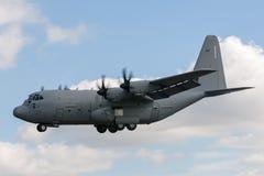 意大利人空军队Aeronautica Militare Italiana洛克西德・马丁C-130J赫拉克勒斯军用货物航空器MM62185 库存图片