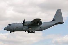 意大利人空军队Aeronautica Militare Italiana洛克西德・马丁C-130J赫拉克勒斯军用货物航空器MM62185 库存照片