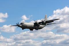 意大利人空军队Aeronautica Militare Italiana洛克西德・马丁C-130J-30赫拉克勒斯军用货物航空器MM62194 库存照片
