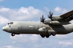 意大利人空军队Aeronautica Militare Italiana洛克西德・马丁C-130J-30赫拉克勒斯军用货物航空器MM62194 免版税库存图片