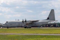 意大利人空军队Aeronautica Militare Italiana洛克西德・马丁C-130J-30赫拉克勒斯军用货物航空器MM62196 库存照片