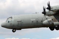 意大利人空军队Aeronautica Militare Italiana洛克西德・马丁C-130J-30赫拉克勒斯军用货物航空器MM62196 免版税库存图片