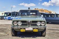意大利人阿尔法・罗密欧公司有著名式样Afetta的葡萄酒汽车1800 图库摄影