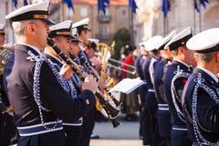 意大利全国统一和武装的Forc的庆祝 库存照片