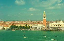 意大利全景威尼斯 免版税库存图片