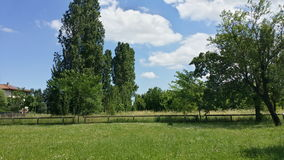 意大利公园 库存图片