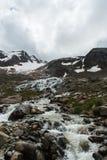 意大利冰川 库存图片