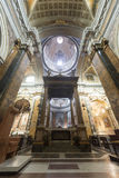 意大利列蒂(意大利),大教堂内部 库存照片