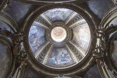 意大利列蒂(意大利),大教堂内部 免版税图库摄影