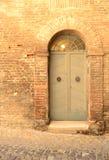 意大利前门 免版税库存照片
