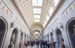 意大利博物馆罗马梵蒂冈 库存图片