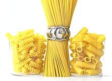 意大利原始的意大利面食 免版税库存图片