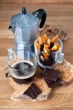意大利咖啡休息 免版税图库摄影
