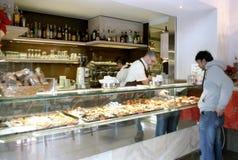意大利咖啡馆 免版税库存照片