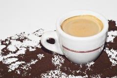 意大利咖啡 免版税库存图片