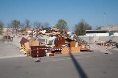 意大利回收的中心(Raee) 免版税库存图片