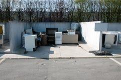 意大利回收的中心(Raee) 图库摄影