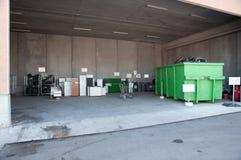 意大利回收的中心(Raee) 库存照片