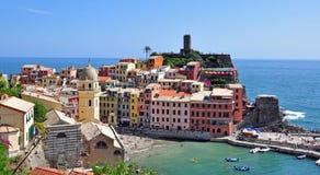 意大利地中海风景 免版税库存照片