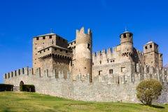 意大利城堡 库存图片
