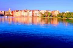 意大利城市复制品在奥兰多,美国 库存照片