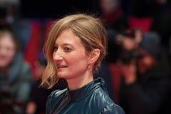 意大利女演员在Berlinale期间的晨曲Rohrwacher 2018年 免版税库存照片