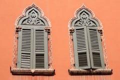 意大利威尼斯式视窗 免版税库存照片
