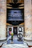 意大利家园的父亲的坟茔,维托里奥伊曼纽尔 免版税图库摄影